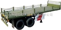 轻型13米栏板半挂车自重多少能载重多少吨?