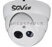 名盾小区专用半球夜视点阵摄像机