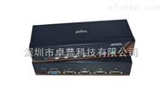 4进1出USB+PS/2混接KVM切换器 LEZAO KX104