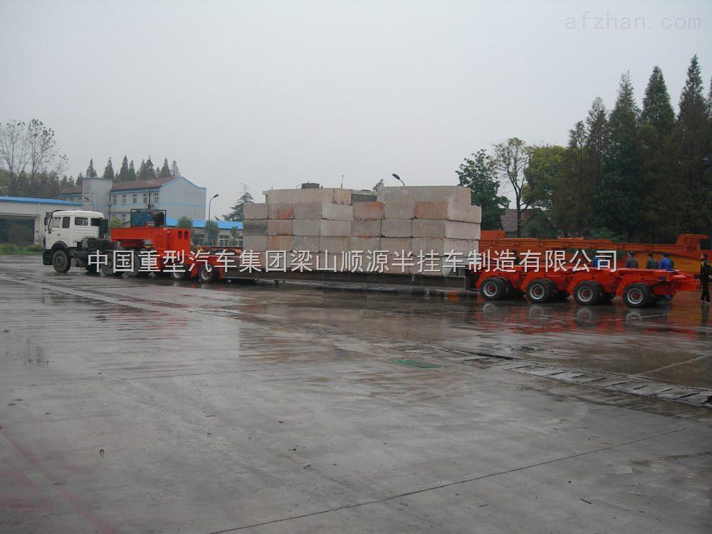 12米低平板半挂车配置 中国重型汽车集团梁山