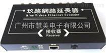 9路網絡延長器接收器(網絡監控傳輸)