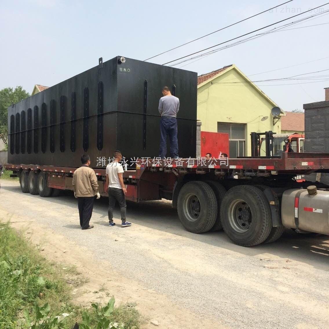 南宁地埋式生活污水处理设备生产厂家