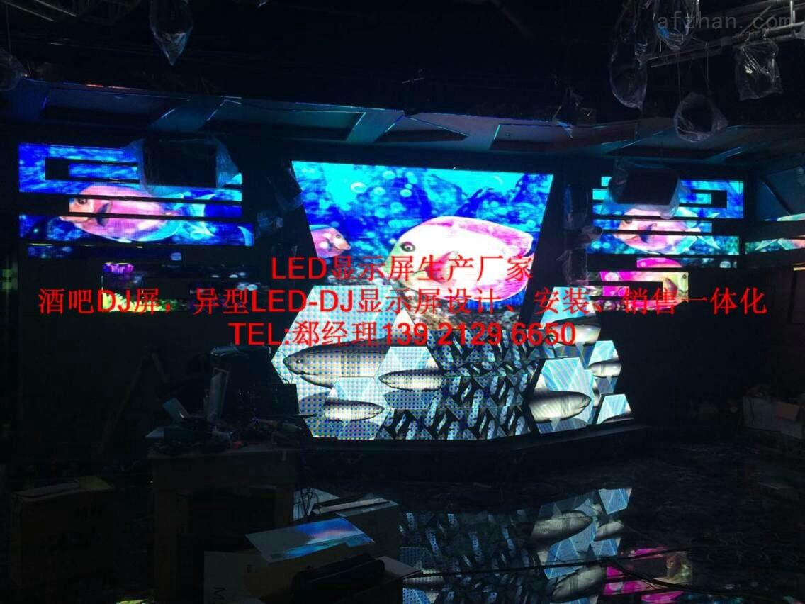 酒吧正方形异型LED显示屏使用寿命—般多久_