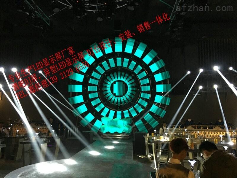 酒吧创意设计异型LED电子显示屏使用寿命—般