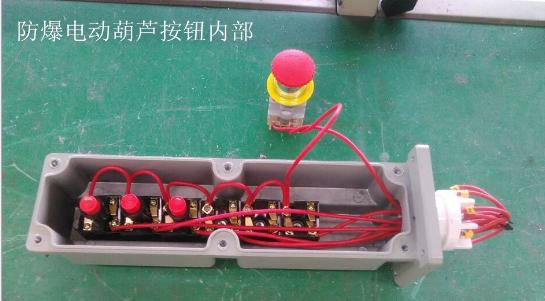 la5817-4/6防爆电动葫芦按钮(iib)