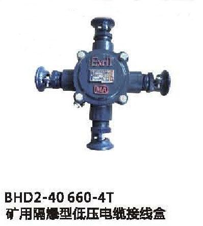 bhd2-40/660-4t矿用隔爆型低压电缆接线盒