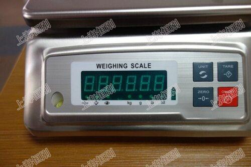 电子防水桌秤